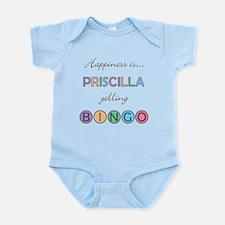 Priscilla BINGO Infant Bodysuit