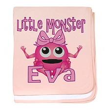 Little Monster Eva baby blanket