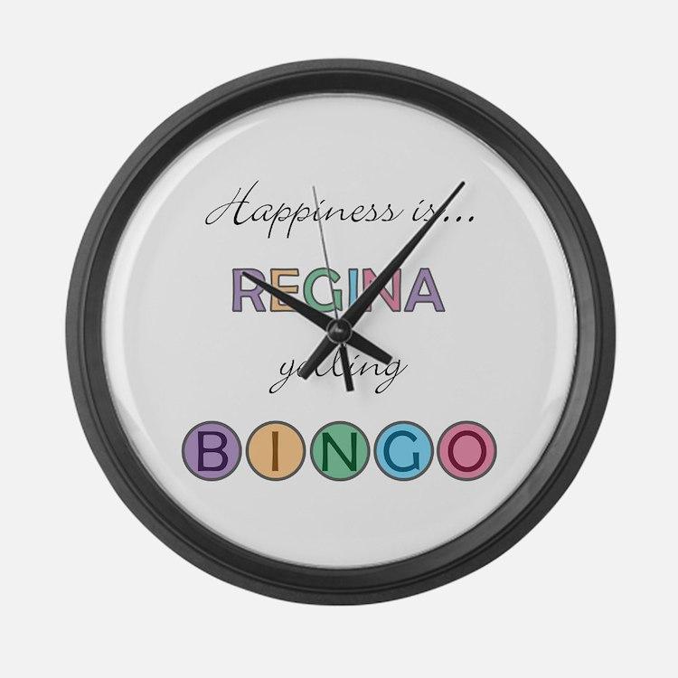 Regina BINGO Large Wall Clock