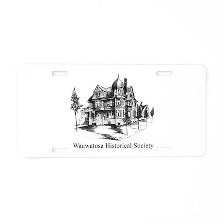WHS Logo Aluminum License Plate