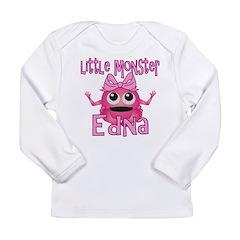 Little Monster Edna Long Sleeve Infant T-Shirt
