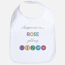 Rose BINGO Bib