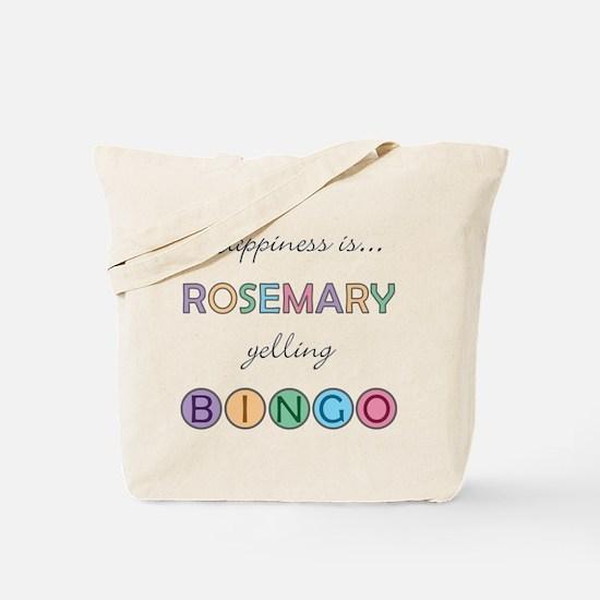 Rosemary BINGO Tote Bag