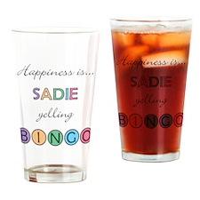 Sadie BINGO Drinking Glass