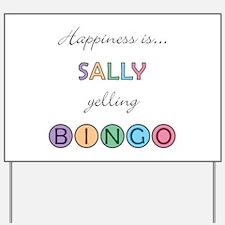 Sally BINGO Yard Sign