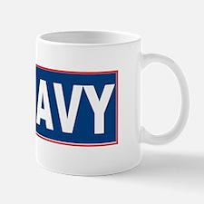 Teach Navy Mug