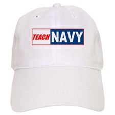 Teach Navy Baseball Cap