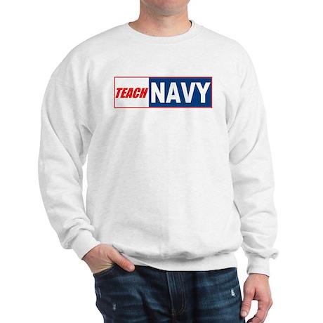 Teach Navy Sweatshirt