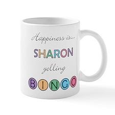 Sharon BINGO Mug