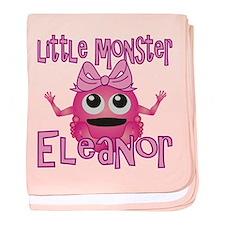 Little Monster Eleanor baby blanket