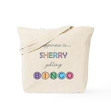 Sherry BINGO Tote Bag