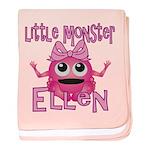 Little Monster Ellen baby blanket