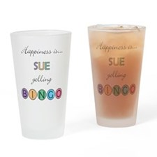 Sue BINGO Drinking Glass