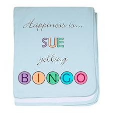 Sue BINGO baby blanket