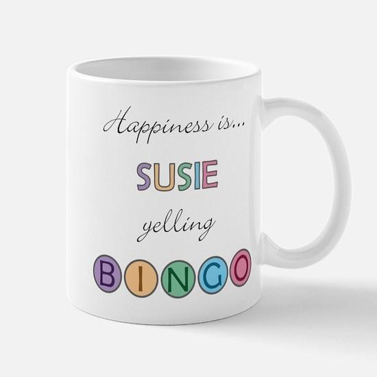 Susie BINGO Mug