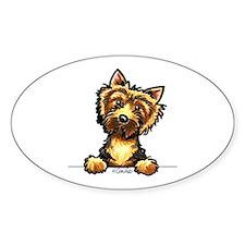 Norwich Terrier Line Art Decal