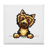 Off the leash dog cartoons Drink Coasters