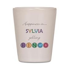 Sylvia BINGO Shot Glass