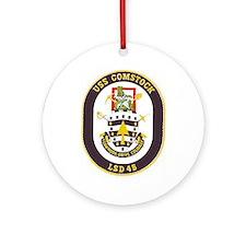 USS Comstock LSD 45 Ornament (Round)