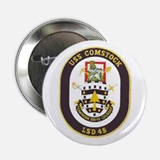 USS Comstock LSD 45 Button