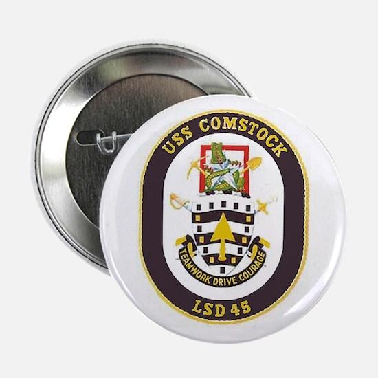 USS Comstock LSD 45 Button