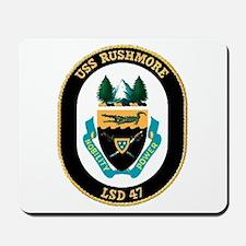 USS Rushmore LSD 47 Mousepad
