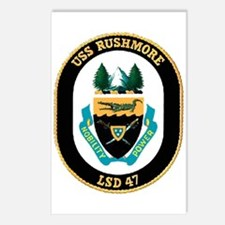 USS Rushmore LSD 47 Postcards (Package of 8)