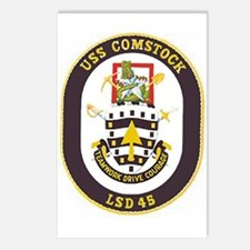 USS Comstock LSD 45 Postcards (Package of 8)
