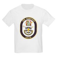 USS Comstock LSD 45 Kids T-Shirt