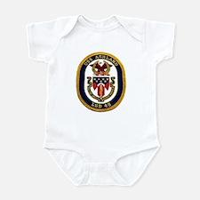 USS Ashland LSD 48 Infant Creeper