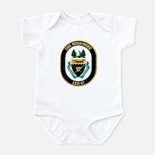 USS Rushmore LSD 47 Infant Creeper