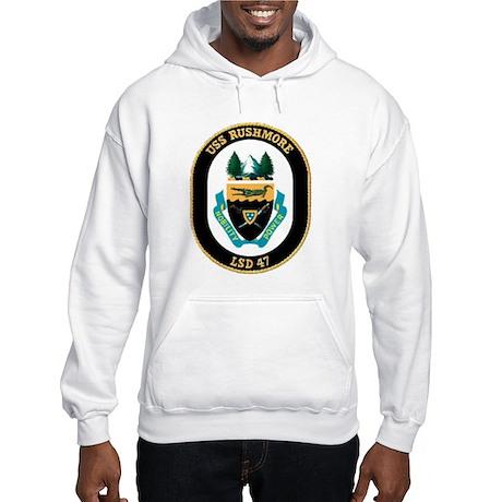 USS Rushmore LSD 47 Hooded Sweatshirt