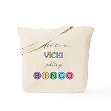 Vicki BINGO Tote Bag