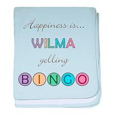 Wilma BINGO baby blanket