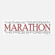 Marathon - Pride is Forever 42x14 Wall Peel