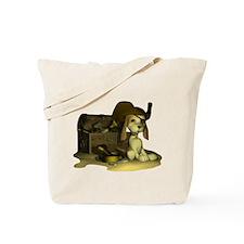 Pirate Puppy Tote Bag