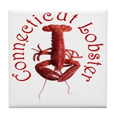 Connecticut Lobster Tile Coaster