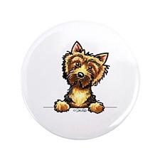 "Norwich Terrier Line Art 3.5"" Button"