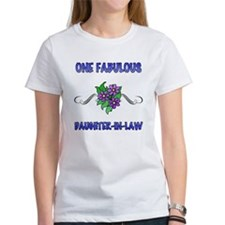 Fabulous Floral Daughter-In-Law Tee