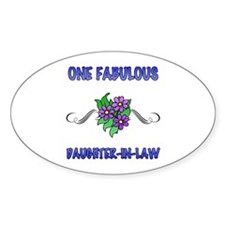 Fabulous Floral Daughter-In-Law Decal