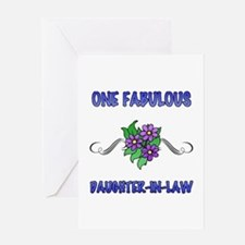 Fabulous Floral Daughter-In-Law Greeting Card
