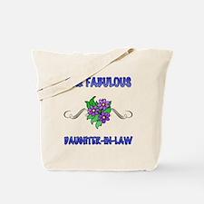 Fabulous Floral Daughter-In-Law Tote Bag