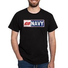 Go Navy Black T-Shirt