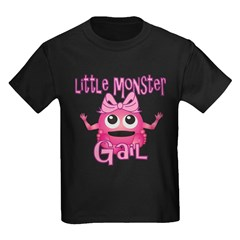 Little Monster Gail Kids Dark T-Shirt