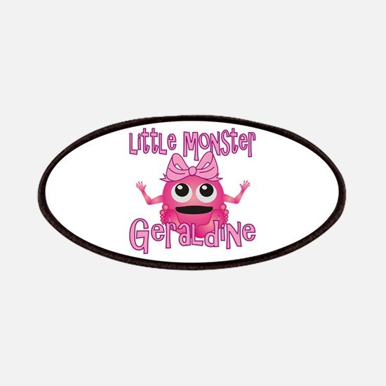 Little Monster Geraldine Patches