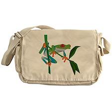 Red Eyed Tree Frog Messenger Bag