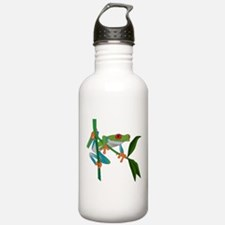 Red Eyed Tree Frog Water Bottle