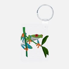 Red Eyed Tree Frog Keychains