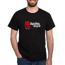 Shotgun Gaper Black T-Shirt