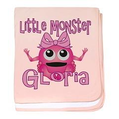 Little Monster Gloria baby blanket